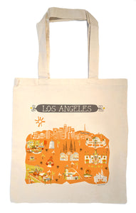 Los Angeles Tote Bag-Wedding Welcome Tote
