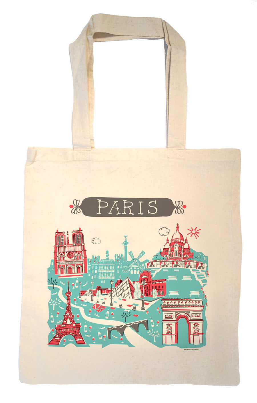 Paris Tote Bag-Wedding Welcome Tote