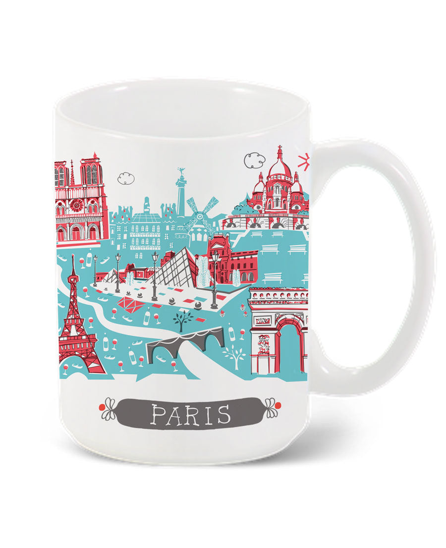 Paris Mug-Custom City Mug