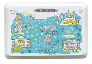 Chicago Tray-Custom City Tray