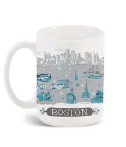 Boston Mug-Custom City Mug