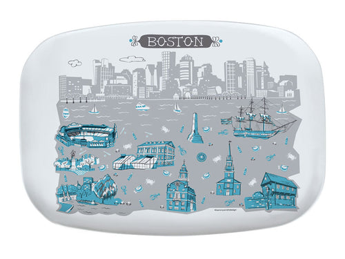 Boston Platter-Custom City Platter