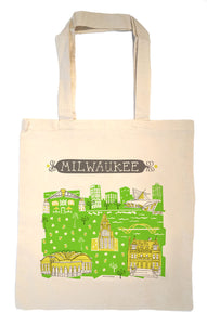 Milwaukee Tote Bag-Wedding Welcome Tote