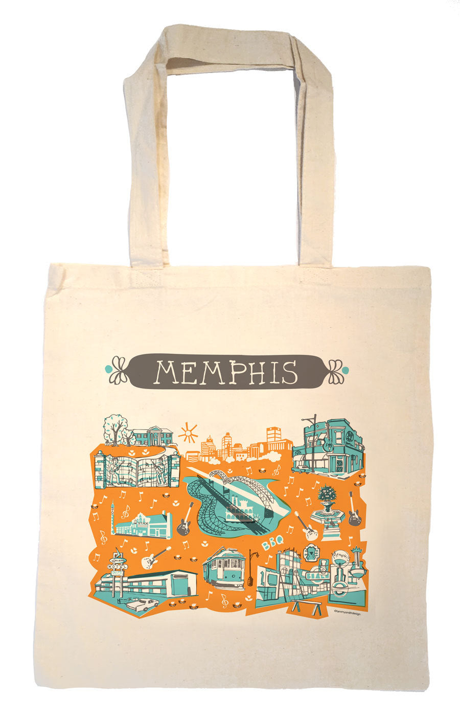 Memphis Tote Bag-Wedding Welcome Tote