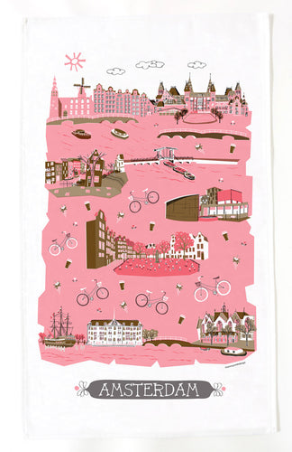 Amsterdam Tea Towel