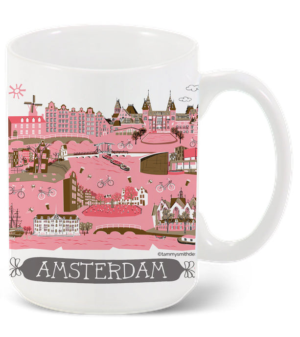 Amsterdam Mug-Custom City Mug