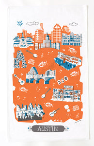 Austin Tea Towel