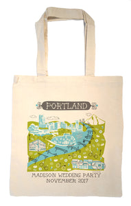Portland Tote Bag-Wedding Welcome Tote