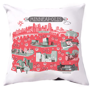 Minneapolis Pillow Cover-16x16