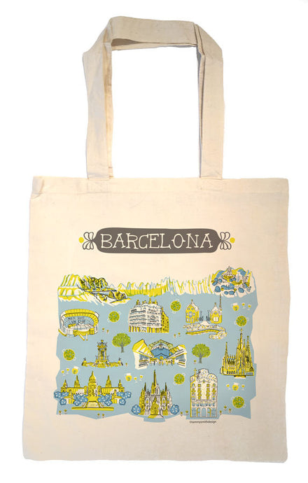 Barcelona Tote Bag-Wedding Welcome Tote