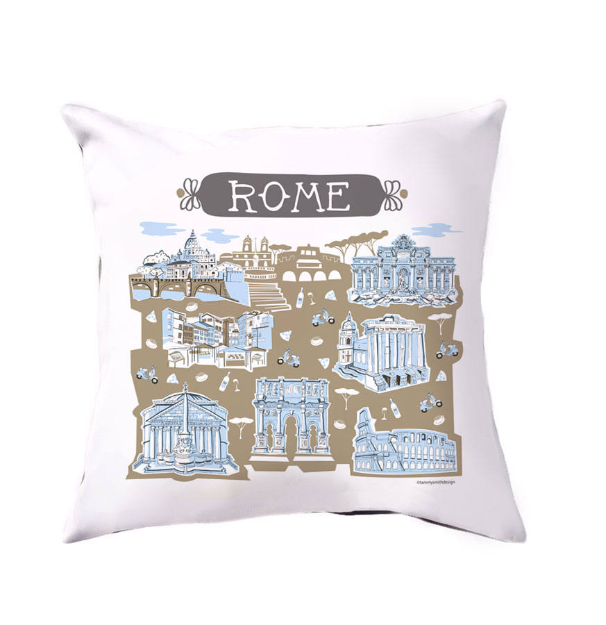 Rome Pillow Cover-16 x 16