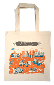 Austin Tote Bag-Wedding Welcome Tote