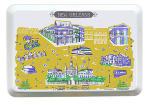 New Orleans Tray-Custom City Tray