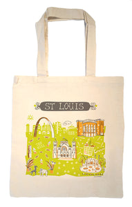 St Louis Tote Bag-Wedding Welcome Tote