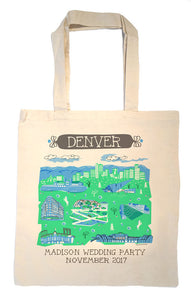 Denver Tote Bag-Wedding Welcome Tote