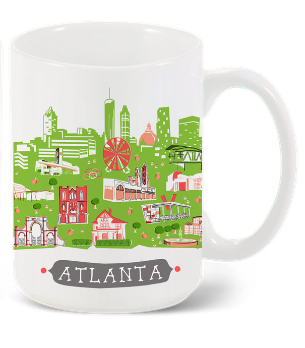 Atlanta Mug-Custom City Mug