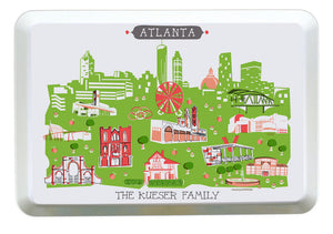 Atlanta Tray-Melamine City Tray