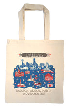 Dallas Tote Bag-Wedding Welcome Tote
