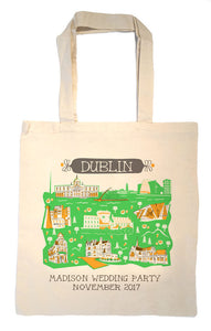 Dublin Tote Bag-Wedding Welcome Tote