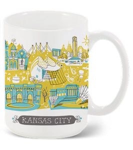 Kansas City MO Mug-Custom City Mug