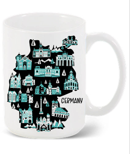 Germany Mug-Custom Country Mug
