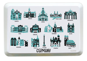 Germany Tray-Country Melamine Tray