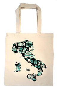 Italy Tote Bag-Wedding Welcome Tote