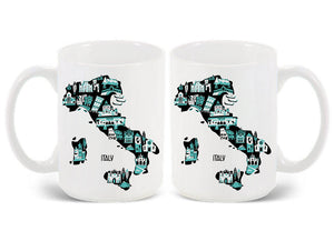 Italy Mug-Custom Country Mug