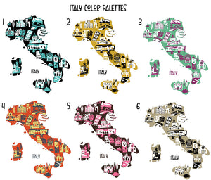 Italy Tray-Custom Melamine Country Tray