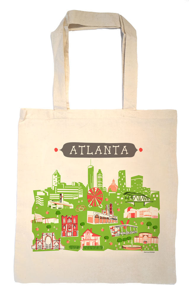 Atlanta Tote Bag-Wedding Welcome Tote