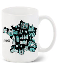 France Mug-Custom Country Mug