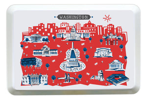 Washington DC Tray-Custom Melamine City Tray