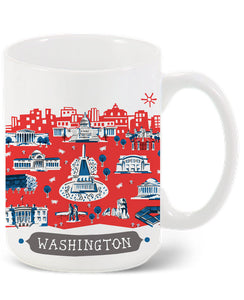 Washington DC Mug- Custom City Mug
