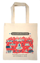 Washington DC Tote Bag-Wedding Welcome Tote