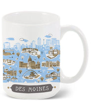 Des Moines Mug-Custom City Mug