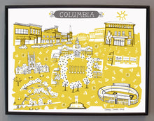 Columbia MO Wall Art-MU-College Dorm Decor