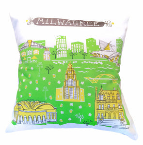 Milwaukee Pillow Cover-16x16