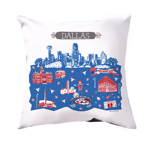 Dallas Pillow Cover-16x16