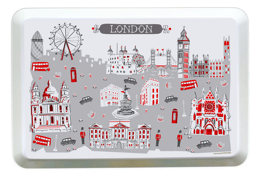 London Tray-Custom City Tray