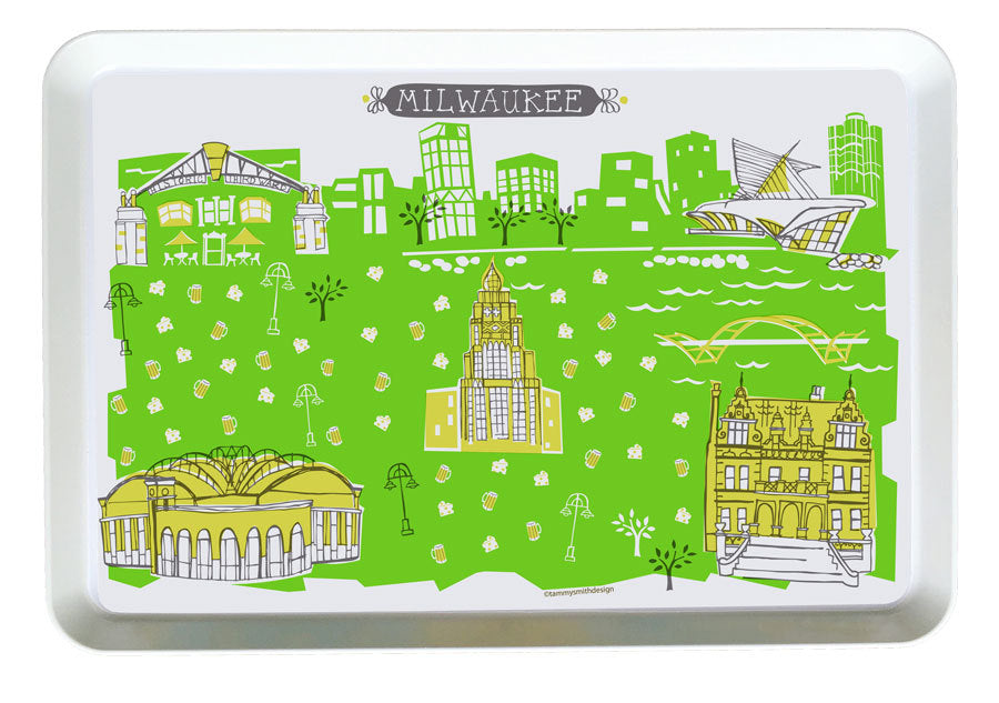 Milwaukee Tray- Custom City Tray