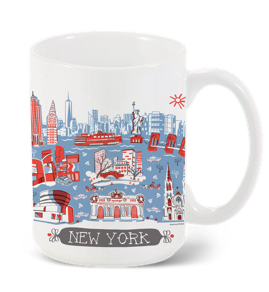 New York Mug-Custom City Mug