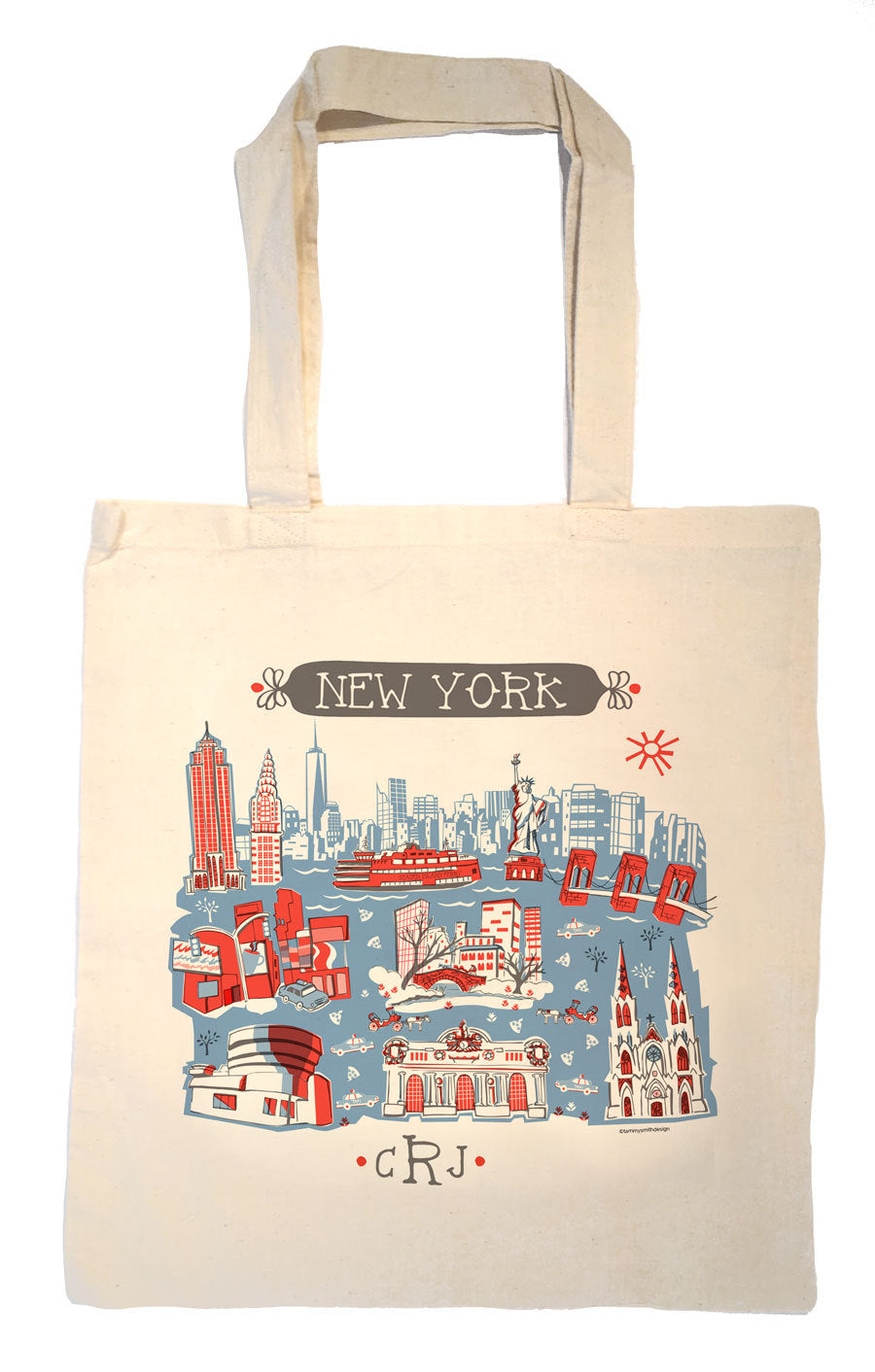 NYC Tote Bag-Wedding Welcome Tote