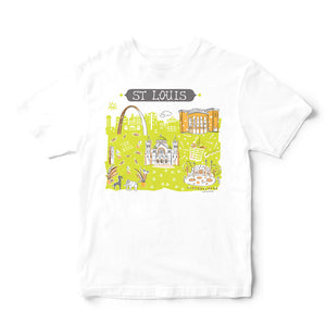 St Louis MO T Shirt-Eco Friendly Print DTG