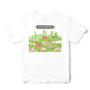 Atlanta T Shirt-Eco Friendly Print DTG