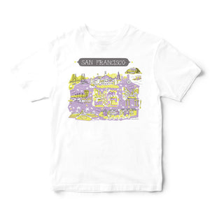 San Francisco T Shirt-Eco Friendly Print DTG