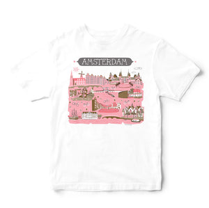 Amsterdam T Shirt-Eco Friendly Print DTG