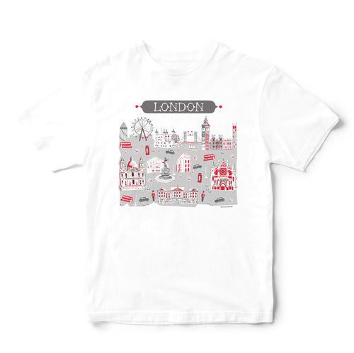 London T Shirt-Eco Friendly Print DTG