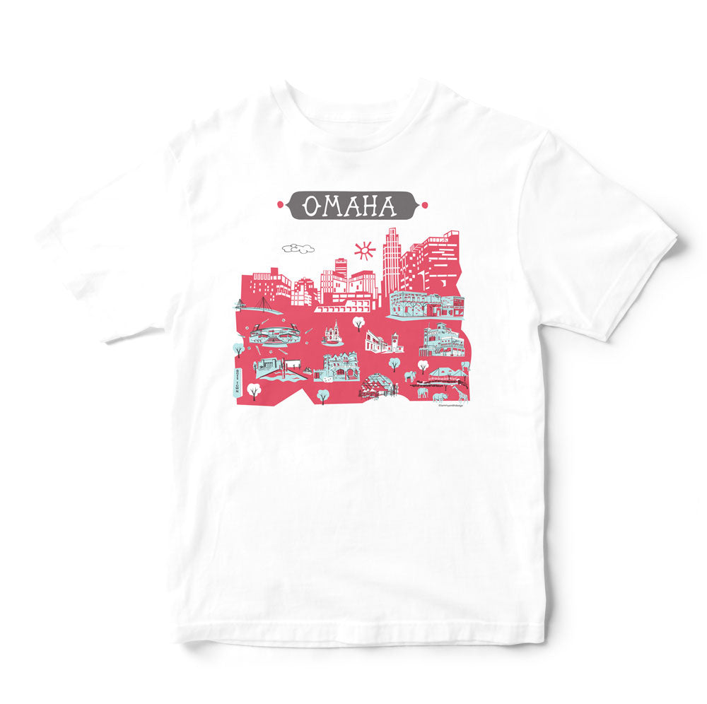 Omaha T Shirt-Eco Friendly Print DTG