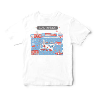 Lawrence KS T Shirt-Eco Friendly Print DTG