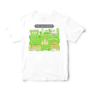 Milwaukee T Shirt-Eco Friendly Print DTG